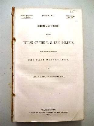 1854 Reports and Charts US Brig Dolphin