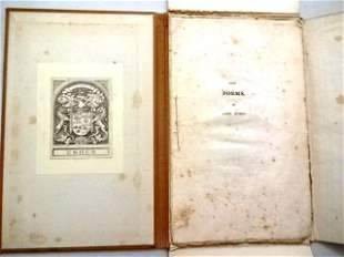 1816 Lord Byron Poems on Domestic Circumstances