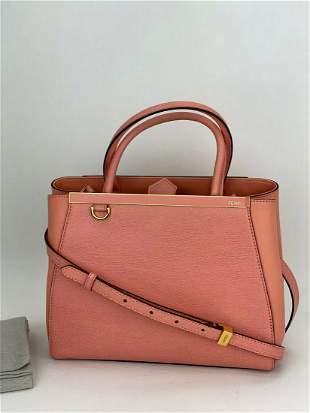 FENDI Vitello Elite Flamingo Petite 2Jours soft pink