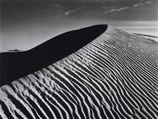 ANSEL ADAMS - Sand Dune, White Sands National Monument