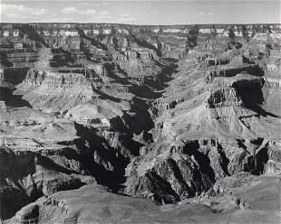 ANSEL ADAMS - The Grand Canyon from Yavapai Point, AZ