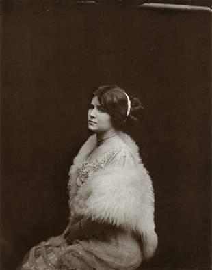 E.J. BELLOCQ - Storyville Prostitute Sitting