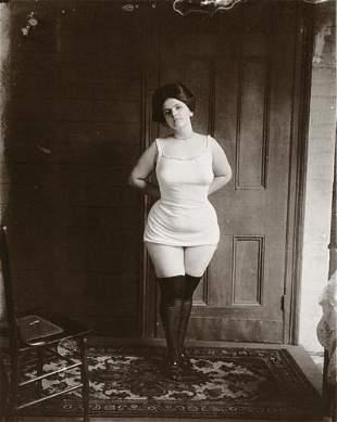 E.J. BELLOCQ - Storyville Prostitute Standing