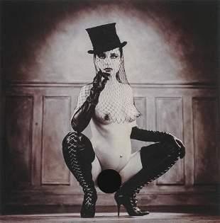 GILLES BERQUET - Top Hatted Nude