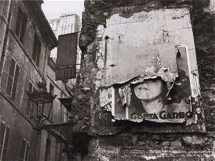 ILSE BING - Greta Garbo Poster, Paris, 1932