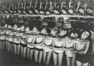MARGARET BOURKE-WHITE - Machine Dance, Moscow Ballet