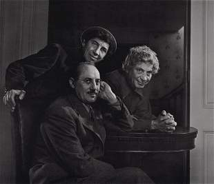 YOUSUF KARSH - The Marx Brothers, 1946