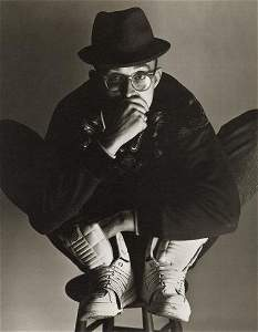 HERB RITTS - Keith Haring, New York, 1989