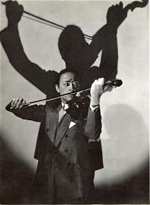 EDWARD STEICHEN - Jascha Heifetz, New York, 1928