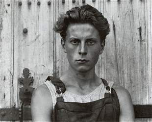 PAUL STRAND - Young Boy, Gondeville, France