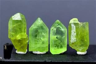 Peridot Crystal , Terminated Damage Free Olivine