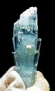 Aquamarine Crystal , Terminated Damage Free Natural