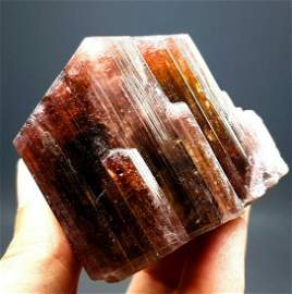 Tourmaline Crystal , Terminated And Undamaged Red Color