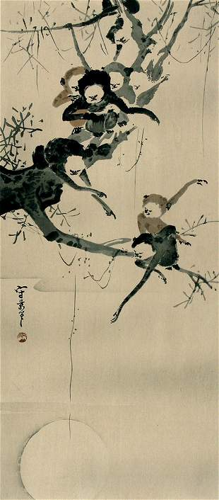 MORIKAGE, Kusumi :Monkeys in a Tree