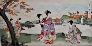 Chikanobu: Chiyoda Inner Palace
