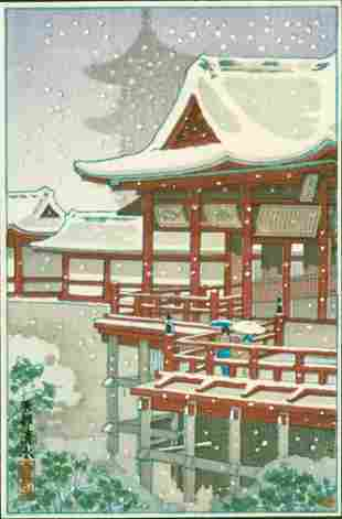 Kyoto Kiyomizu Temple - Pre-war 1st ed.