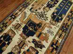 Balouch Pictorial Gallery Rug