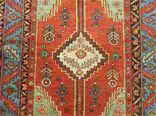 Tribal Antique Persian Heriz Rug