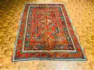 Antique Turkish Ushak Rug-2326