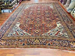 Antique Persian Zigler Mahal Rug,excellent. 816