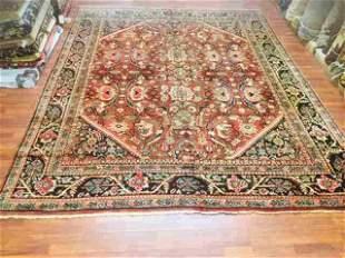 Antique Persian Mahal Rug-1404