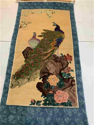 Hand Knotted Chinese 2x4.1 ft