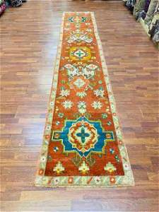 Antique Turkish Ushak Runner-1821