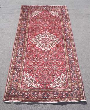 Semi Antique Persian Hamedan 5.3x10.2