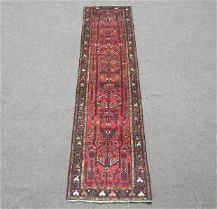 Semi Antique Persian Hamedan 2.6x9.8