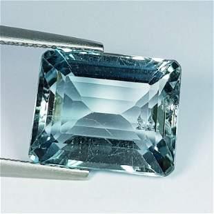 Natural Blue Topaz Octagon Cut 9.30 ct