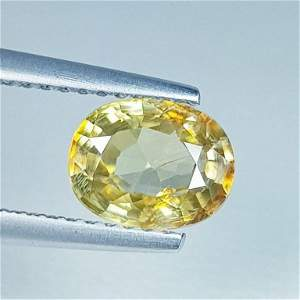 1.81 ct Natural Zircon Oval Cut