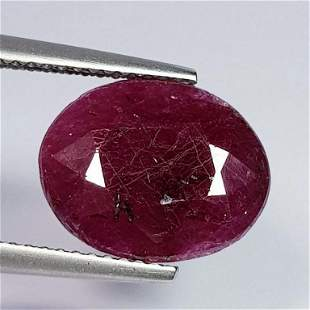 6.96 ct Natural Faceted Ruby