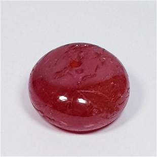 11.58 ct Natural Ruby Round Drilled