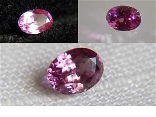 peach pink Sapphire/Ruby, unheated| 0.71 ct