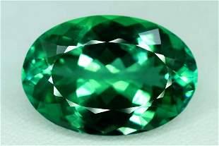 Hiddenite Kunzite Spodumene Loose Gemstone Lush Green -