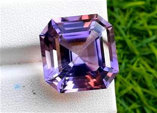 Amethyst, 28.30 Carats Natural Top Color Fancy Cut