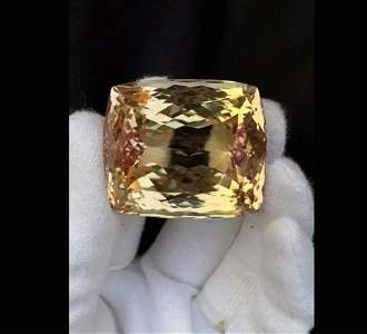 Kunzite Gemstone ~ Natural Peach Color Kunzite Gemstone