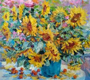 Oil painting Sunny still life Alexander Nikolaevich