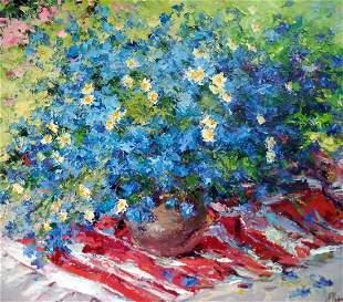Oil painting Flippers Alexander Nikolaevich