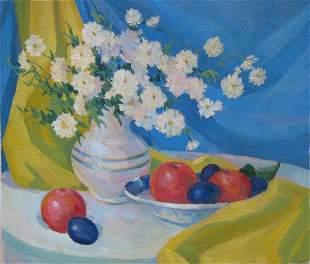 Oil painting Etude Kalebets  Valery