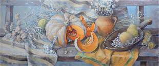 Oil painting Autumn silver Procach Olesia
