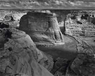 ANSEL ADAMS - Canyon de Chelly Monument, AZ, 1942