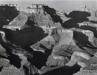 ANSEL ADAMS - Cape Royal from South Rim Grand Canyon