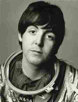 RICHARD AVEDON - Paul McCartney, The Beatles, London