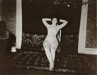 E.J. BELLOCQ - Storyville Prostitute
