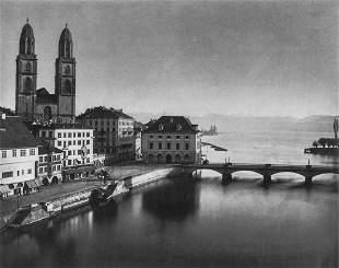 ADOLPHE BRAUN - View of Lucerne, 1860