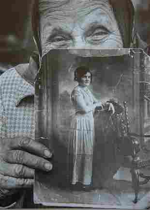 TIMOTHY BULLARD - Gertrude Baccus, at age 18 and 84