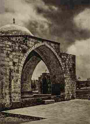 KARL GROBER - Jerusalem, Place of the Temple