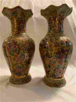 Chinese antique Jingdezhen Porcelain Vase, Hand Painted
