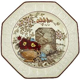 Victorian Wedgwood Transferware Plate